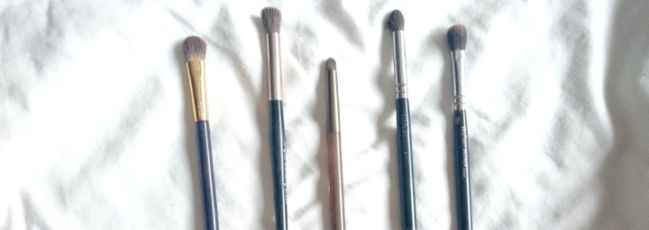 My Favourite Eye Shadow Brushes