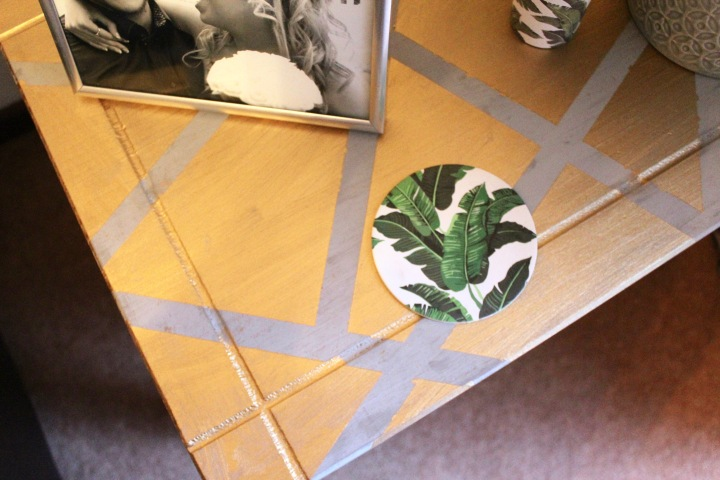 DIY Geo Table and Mirror | HowTo