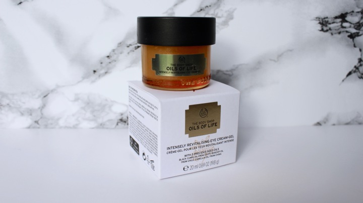 The Body Shop Oils Of Life Eye Cream | REVIEW